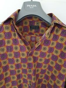 Mens-chic-PRADA-long-sleeve-shirt-size-small-Immaculate-RRP-375