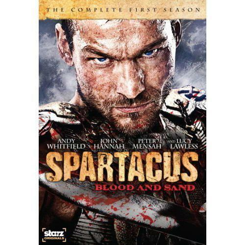 1 of 1 - Spartacus: Blood and Sand - The Complete First Season (DVD, 2010, 4-Disc Set)