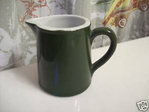 Collectible-Hall-Green-Creamer-Pitcher-three-inch