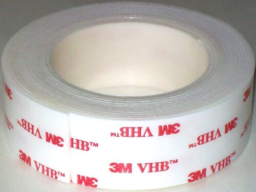 "3M VHB 1/"" X 15/' LSE 4952 Double Sided Foam Servo Mounting Tape RC Remote Control"