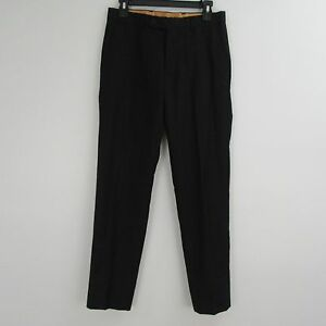 MARCHATTI Italy Black Dress Pants Size 36S/30W