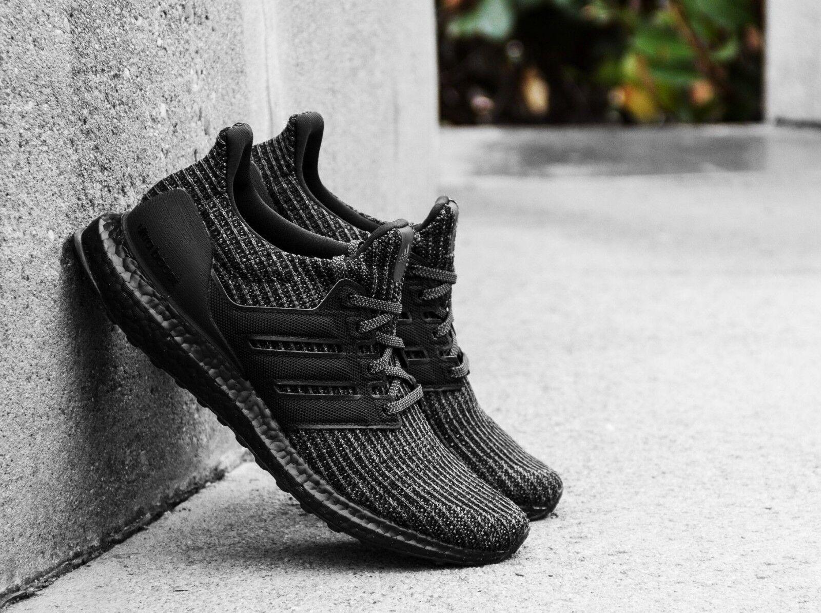 Adidas triplo ultraboost 4,0 ltd riflettente triplo Adidas nero nuovi uomini dimensioni 514 (bb6171) cf93a7