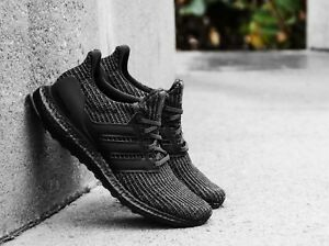 d605132a507 Adidas UltraBoost 4.0 LTD Reflective Triple Black New Men Size 5-14 ...