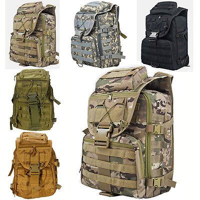 New Outdoor Military Tactical Backpack Hiking Camping Trekking Rucksacks 35L bag