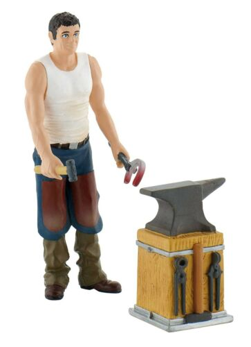 Bullyland 62041 Blacksmith Set 11 Cm Pferdewelt