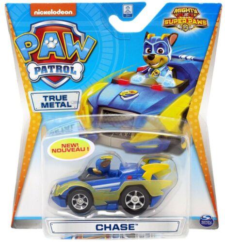 Paw Patrol Vrai métal moulé sous pression Mighty Pups Super Paws-Chase