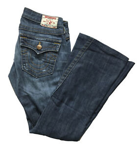 6e70a654a Image is loading True-Religion-Womens-Joey-Big-T-Twisted-Jeans-