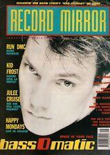 Bass-O-Matic on Magazine Cover 8 December 1990   Run DMC   Kid Frost