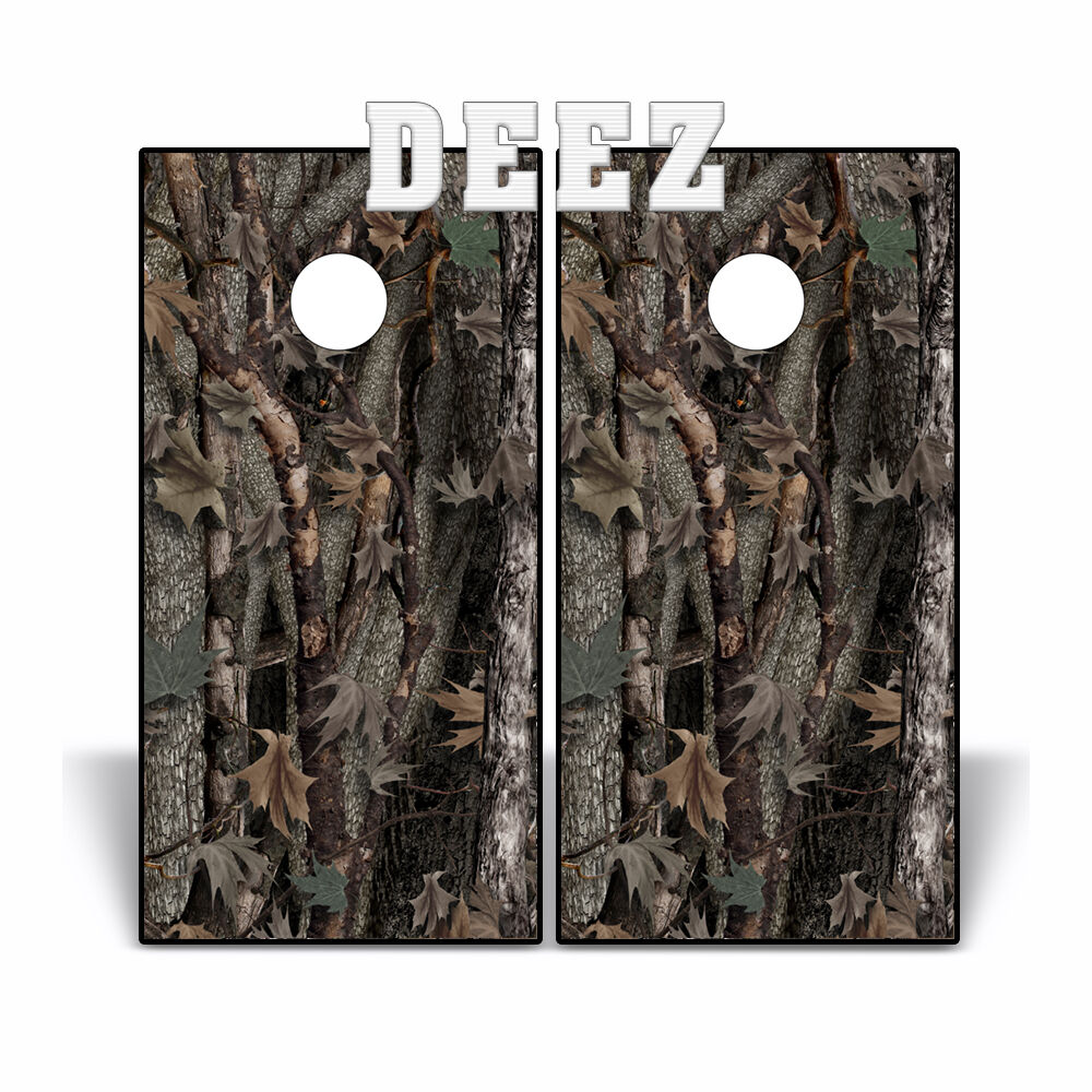 Cornhole Board  Decal Wrap Camouflage Beanbag Toss WILD OAK TREE Camo 2 sheets  find your favorite here