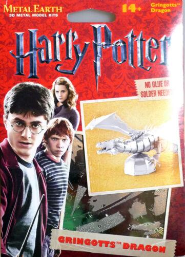Tweezer 14433 Metal Earth Harry Potter Gringotts Dragon 3D Metal Model