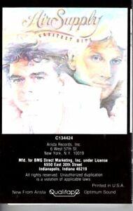 Air-Supply-Greatest-Hits-Black-Cover-1983-Cassette-Tape-Album-Pop-Folk-Rock-Soft