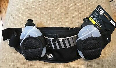 Karrimor X Lite Running Belt and Bottle Reflective Elasticated Sports New