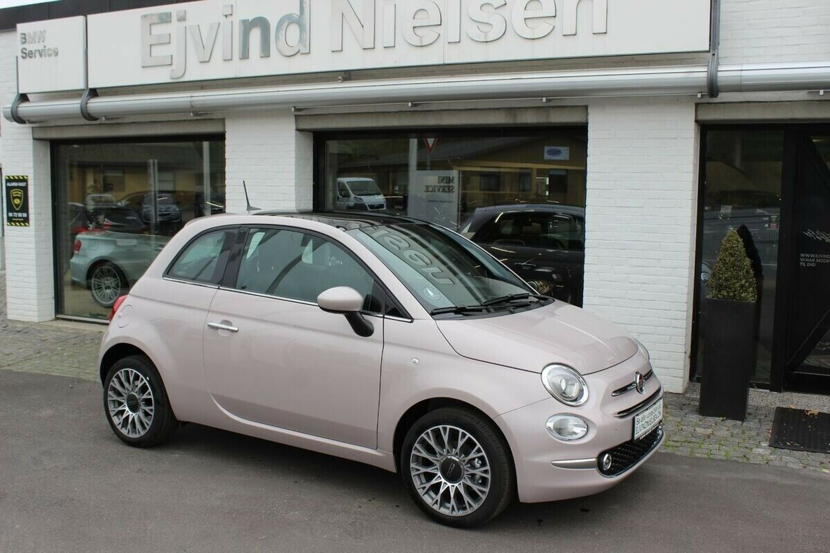 Fiat 500 1,0 Star+ 3d - 2.706 kr.