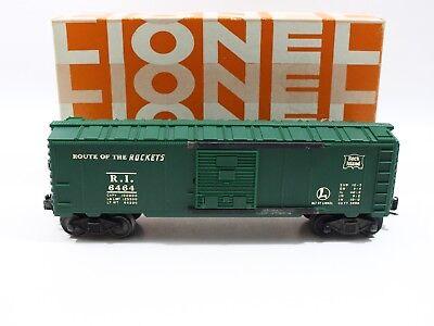 Lionel O Postwar 6464 Rock Island Boxcar 1960s + Hagerstown Box