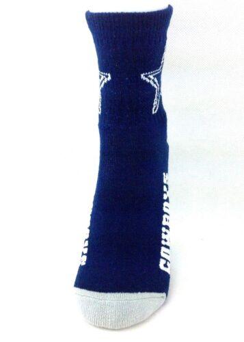 Dallas Cowboys Football Navy Toddler Quarter Socks