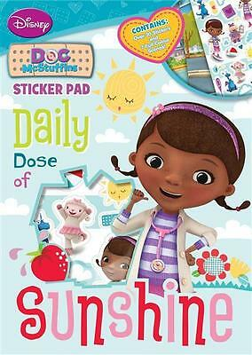 Disney Doc McStuffins Sticker Pad & 30 Stickers & Scenes Travel Stocking Fillers