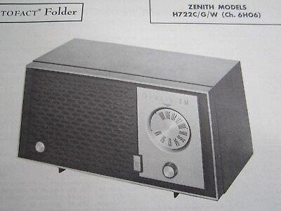 ZENITH 5G003 5C40 RADIO RECEIVER PHOTOFACT