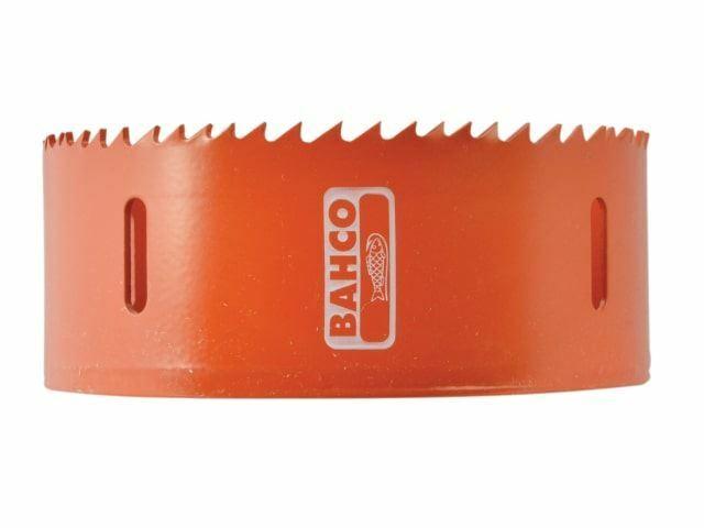 Scie trépan à pas variable bimétal bahco - 3830-98-C 98mm