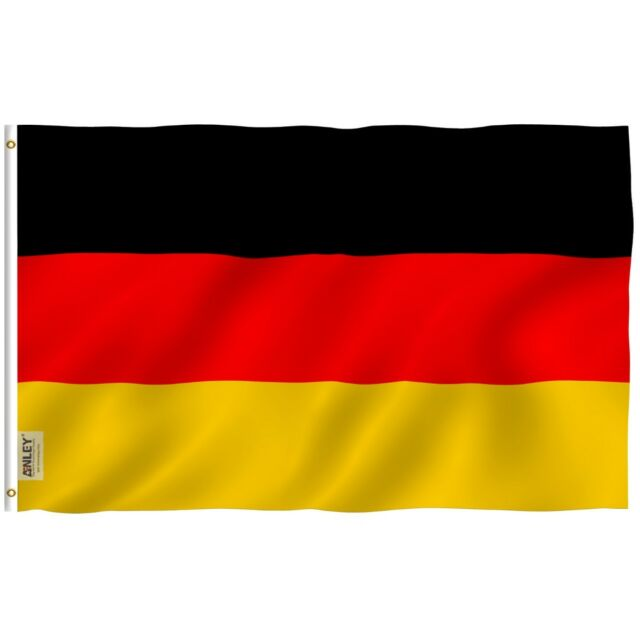 anley german flag germany national banner polyester 3x5 foot country