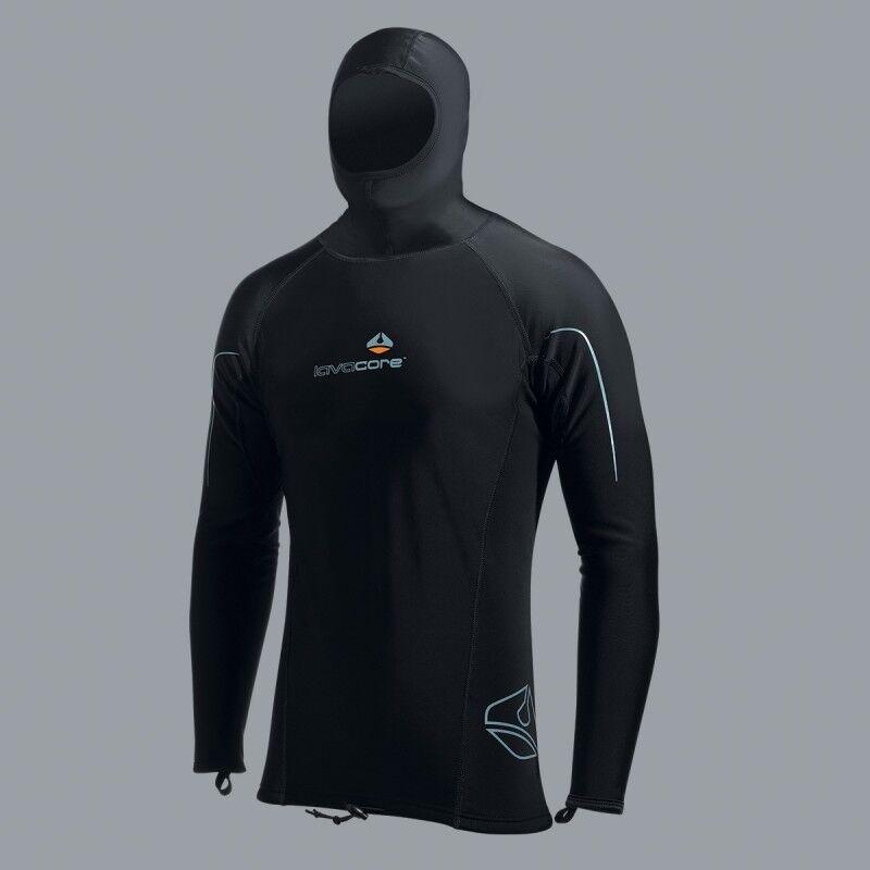 Lavacore - Men's Hooded Long Sleeve Shirt - Rest Talla XS