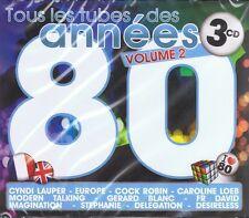 ANNEES 80 vol.2 - 3 CD NUOVO Scotch Stephanie il gazebo Silver Pozzoli il Harrow