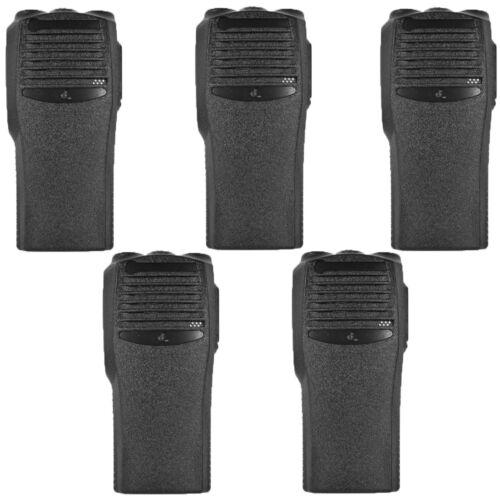 5x Black Replacement Repair Case Housing Cover for Motorola CP200 Portable Radio