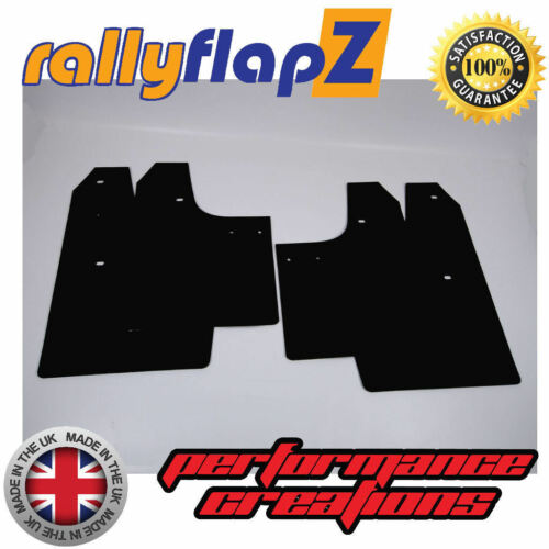 05-12 4mm PVC rallyflapZ SUZUKI SWIFT SPORT ZC31S Mudflaps Mud Flaps Black