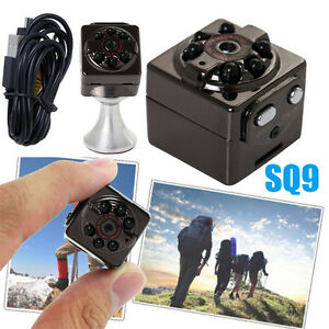 SQ9 Mini Camera HD 1080P Sports DV Camcorder IR Night Vision Video Recorder