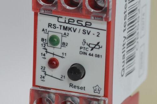 Riese RS-TMKV-2 Zeitrelais Kaltleiterauslöserrelais PTC-Resistor Relay 230 VAC