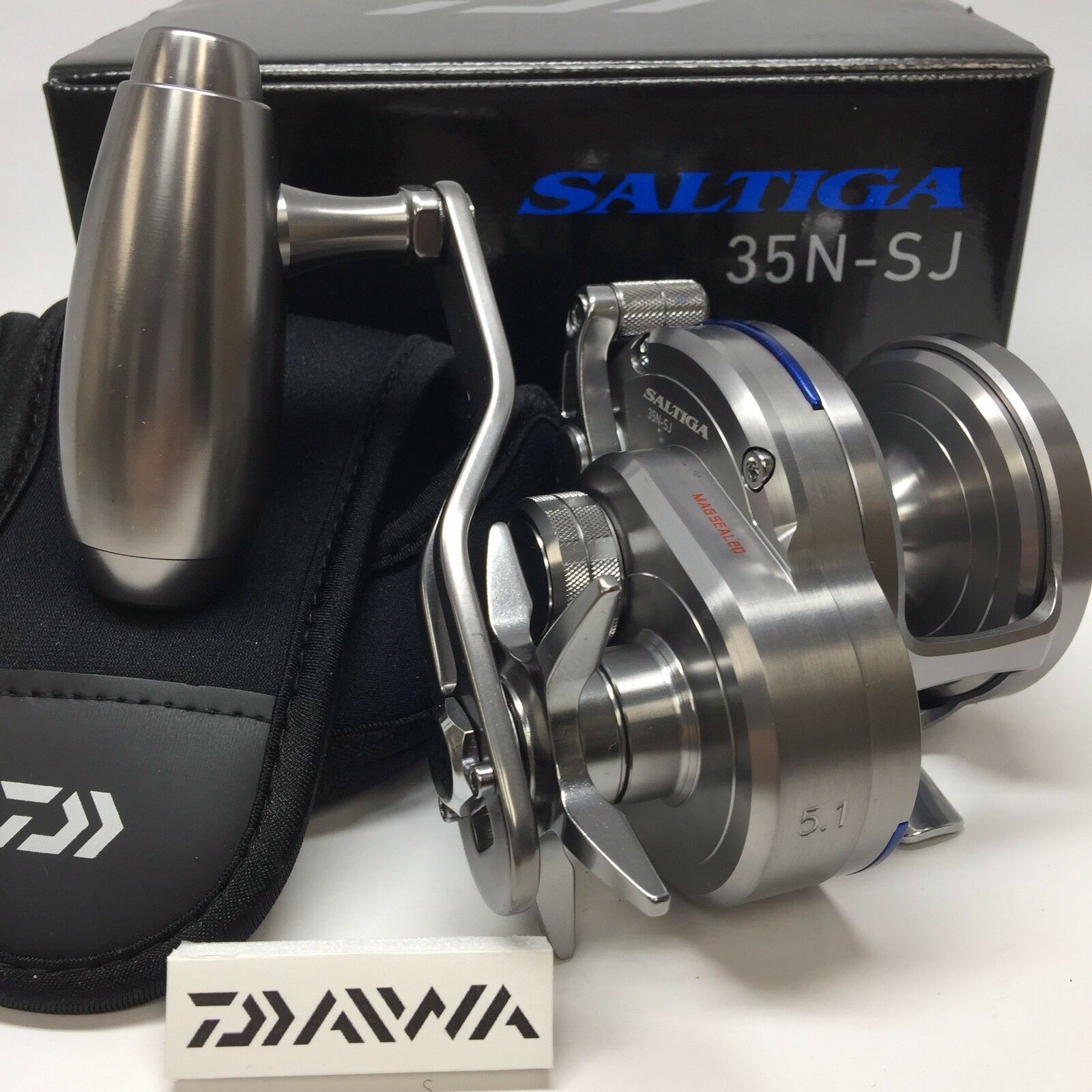 DAIWA 16 SALTIGA 35N-SJ   - Free Shipping from Japan