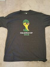 FIFA World Cup 2014 Brazil Officially Licensed T-Shirt, Large