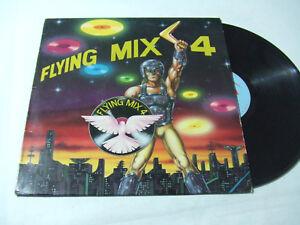Flying Mix 4  - Disco Vinile 33 Giri LP Compilation Mixed ITALIA 1984