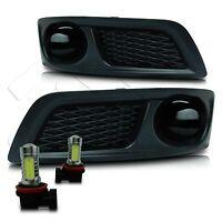 10-12 Subaru Legacy Fog Lights W/wiring Kit & Cob Led Bulbs - Super Smoke