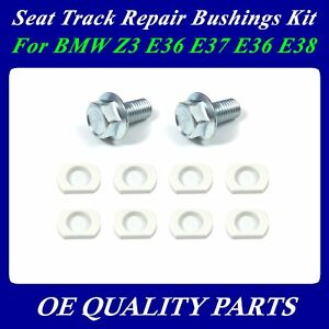 Upgrade For Bmw Z3 E36 7 E36 8 Seat Track Repair Bushings
