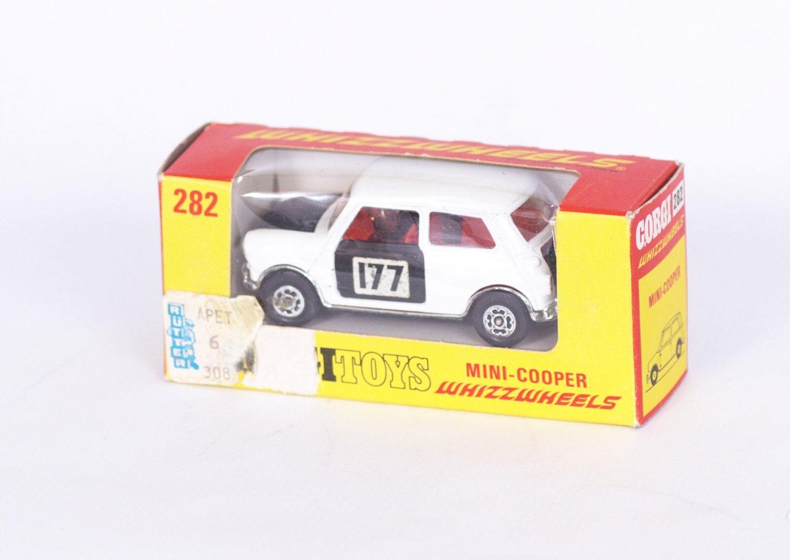 CORGI toys 282  MINI COOPER rallye # 177  OVP  original 1970   Facile à Nettoyer Surface    Pour Assurer Problèmes Pendant Des Années-service Gratuit    L'exportation    Structurels élégantes