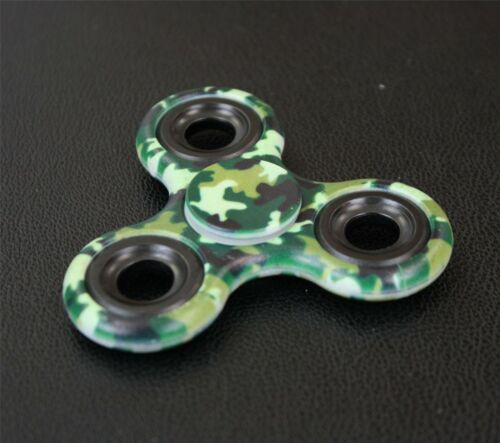 Fidget Spinner Camo Army Cyclone Rainbow Finger Focus Fast Bearing Stress Toy