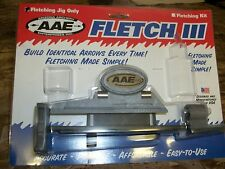 AAE Arizona Fletch III Arrow Fletching Jig Vanes Feathers Arrows
