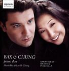 Bax & Chung, Piano Duo play Stravinsky, Brahms, Piazzolla (CD, Nov-2013, Signum Classics)