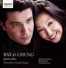 Stravinsky/Brahms/Piazzolla: Bax & Chung-Piano Duo, New Music