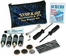 Stop & Go Motorcycle and ATV CO2 Tire Repair Kit Emergency tube & tubeless tire