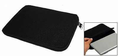 """10"""" 12"""" 13"""" 14"""" 15"""" 17"""" Black Laptop Notebook Soft Sleeve Case Pouch Protector"""