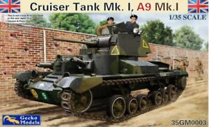 Gecko 1/35 Char Cruiser Mk.l, A9 Mk.ia # gm0003