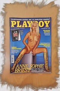 PLAYBOY-11-2001-mit-Anne-Sophie-Briest-Adult-Magazine-Erotik-Liebhaber-Sammler