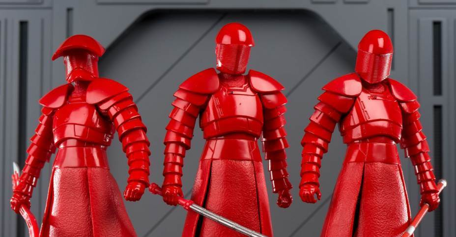 Bandai S.H. Figuarts la última Jedi De Estrella Wars Elite conjunto completo de la guardia pretoriana