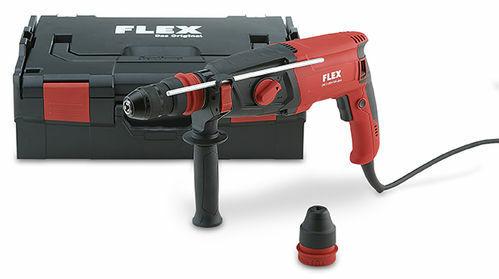 Flex Bohrhammer CHE 2-28 R mit Wechselbohrfutter SDS-plus//Schnellspann #461.490