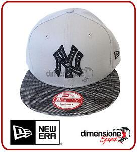 NEW ERA NEW YORK YANKEES REGOLABILE SNAPBACK MLB TEAM MESH CAP NY 9FIFTY TG. S/M