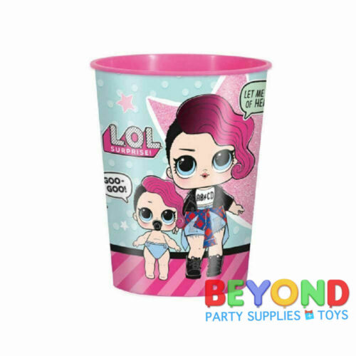 LOL Surprise High Quality Reusable Birthday Party Plastic Cups