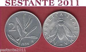 A70 Italy Italia Repubblica Italiana 2 Lire 1959 Ape Ulivo Km 94 Fdc / Unc 9olmzd4p-08004623-597561419