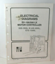 Hyster Electrical Diagrams Ev 100200 Lx Motor Controller 897417 T1378