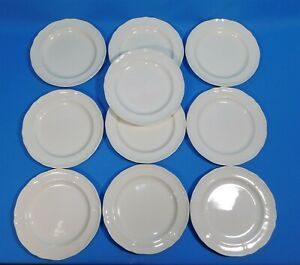 10-WEDGWOOD-OF-ETRURIA-amp-BARLASTON-QUEENS-SHAPE-6-5-034-Bread-Butter-Plates